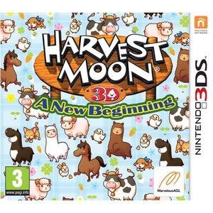 JEU 3DS Harvest Moon A New Begining Jeu 3DS