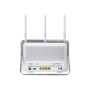 MODEM - ROUTEUR TP-LINK Modem Routeur VDSL2 Gigabit WiFi double ba