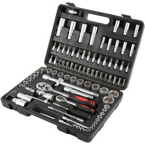 6-22 mm Double-cliquet Jeu d/'outils 8 pièces extra plat
