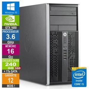 UNITÉ CENTRALE  PC Gamer LPG-6300T Core i5-3470 3.60GHz 16Go/240Go