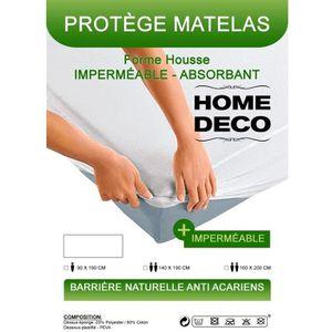 PROTÈGE MATELAS  Protege matelas 60 x 120 cm impermeable, absorbant