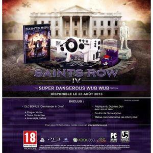 JEU PS3 Saints Row IV - The Super Dangerous Wub Wub Collec
