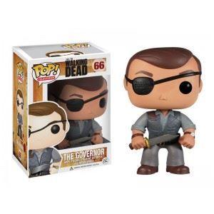 FIGURINE - PERSONNAGE Figurine Walking Dead - Le Gouverneur Pop 10cm