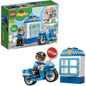 ASSEMBLAGE CONSTRUCTION LEGO® DUPLO® 10900 La Moto de Police