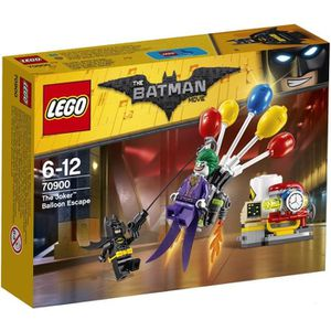 ASSEMBLAGE CONSTRUCTION LEGO® 70900 Batman Movie - L'évasion en ballon du