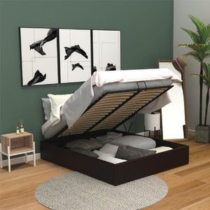 structure de lit achat vente structure de lit pas cher. Black Bedroom Furniture Sets. Home Design Ideas