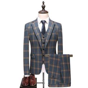 COSTUME - TAILLEUR Costume Homme de Marque  d'affaires Costume trois