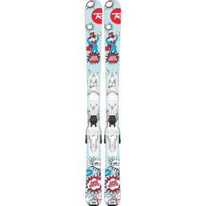 SKI Pack De Ski Rossignol Super Roostie + Fixations Ki
