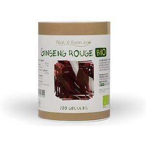 TONUS - VITALITÉ GINSENG ROUGE BIO 200 gélules végétale ECO RESP…
