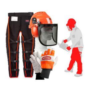 GUIDE TRONCONNEUSE Oregon Kit de vêtements de travail de sécurité pou