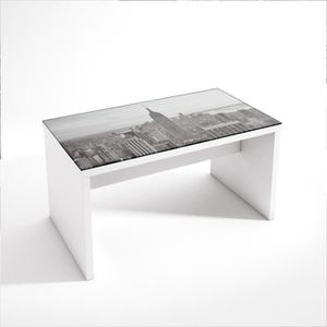 TABLE BASSE Table basse design Empire NY  avec plateau carr…