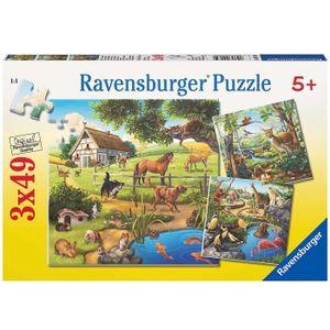 PUZZLE Ravensburger - 09265 - Puzzle Classique - Animaux