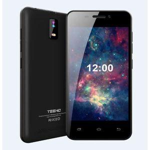 SMARTPHONE Teeno Smartphone HD 4G débloqué Noir (Android  Dou