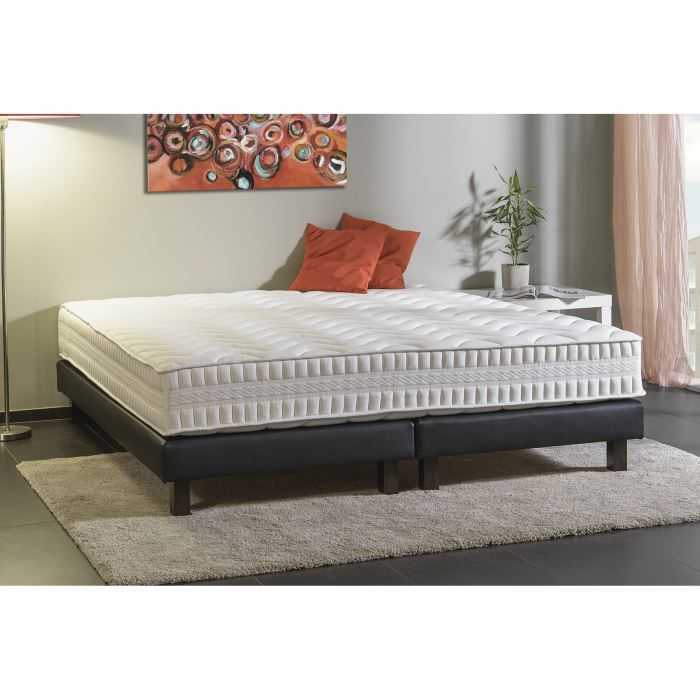 deko dream matelas rubis 180x200 cm ressorts equilibr 785 ressorts ensach s 2 personnes. Black Bedroom Furniture Sets. Home Design Ideas