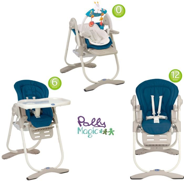 Chicco Chaise Haute 3 En 1 Polly Magic Deep Blue Deep Blue Achat Vente Chaise Haute 8058664018956 Cdiscount