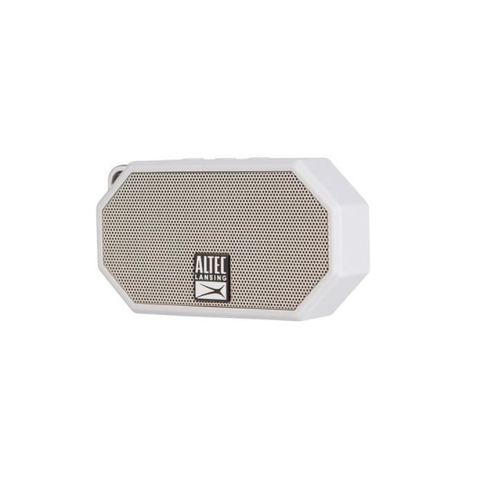 ALTEC Enceinte mini H2O - ip 67 - 3,5 mm microphone - Gris
