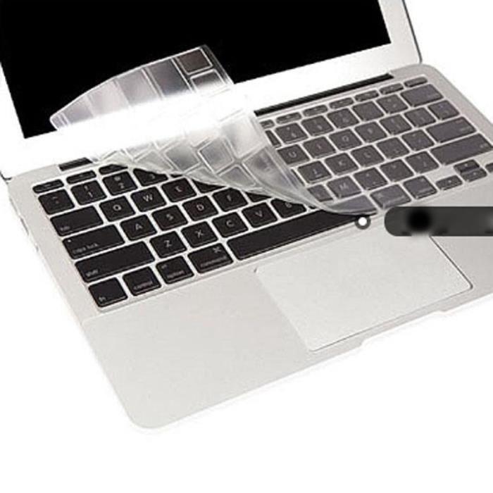Transparent Protège de clavier en silicone Apple Macbook Pro /Retina 13- 15-