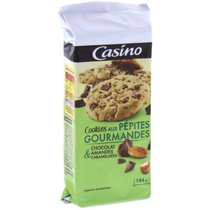 Cookies aux pépites gourmandes - Chocolat et amandes caramélisées - 184 g