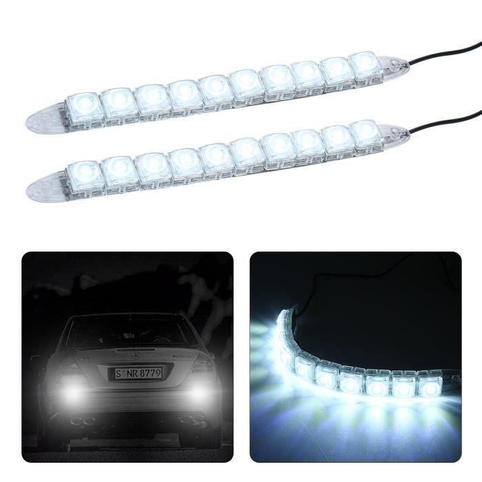 YM Tubes Lumineux Bande LED pour Voiture 2 Pièces - YMPRM824A3110