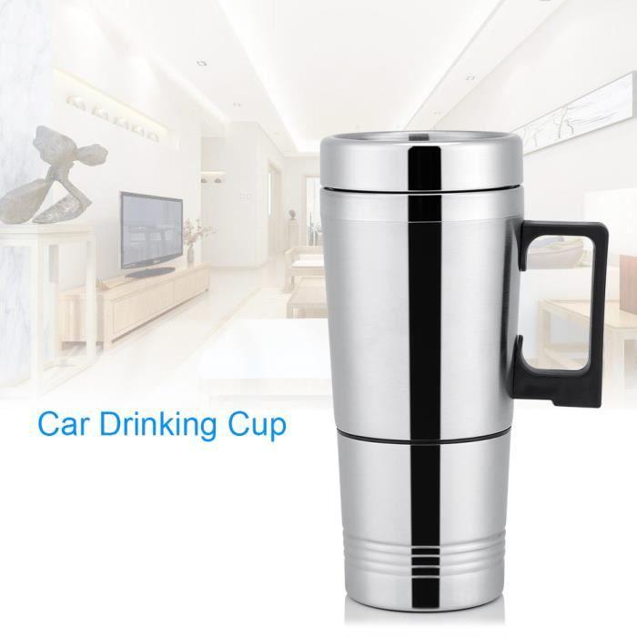 Bouilloire de voiture,12V 300ml Potable Bouteille Café Tasse HB008 -JID