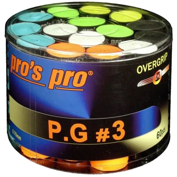 Pros Pro Overgrip P.G.3 60er colored perforated Tennis Grips
