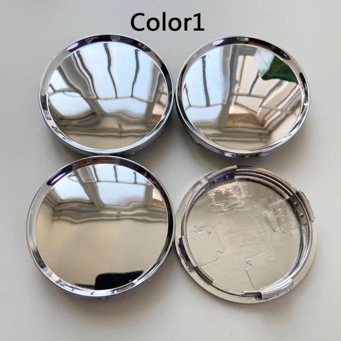 Color1 -Couvercle anti poussière universel pour moyeu de roue de voiture, 63MM, 4 pièces-lot, cache poussière, accessoires de style