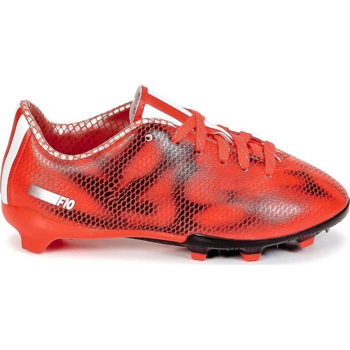 ADIDAS Chaussures de Football F10 Terrain Sec FG Enfant Garçon