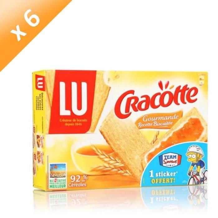 [LOT DE 6] CRACOTTE Tartines gourmandes 250g