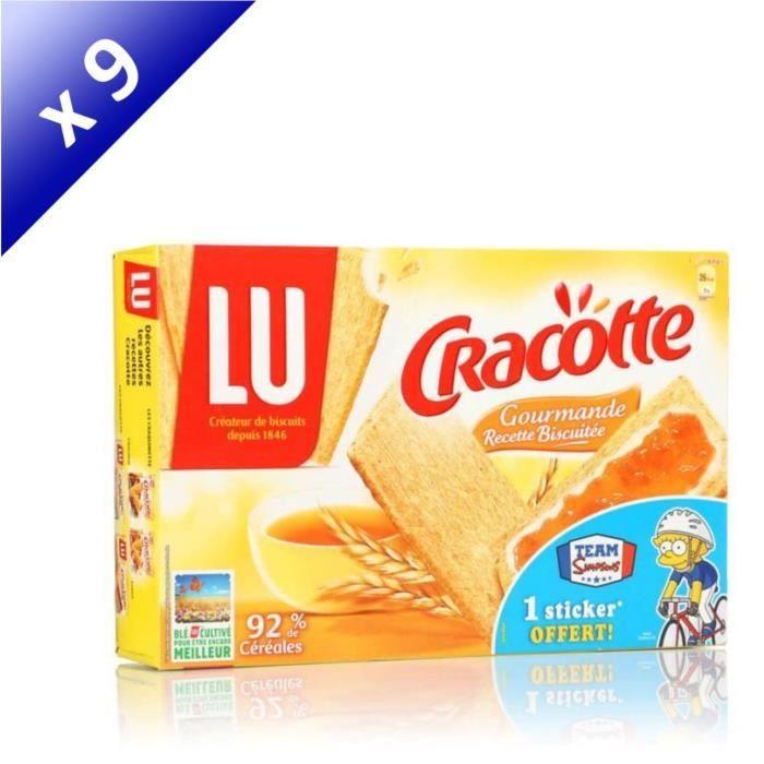 [LOT DE 9] CRACOTTE Tartines gourmandes 250g