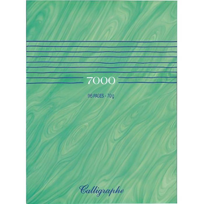 Cahier album dessin 24x32 70g uni blanc 96p