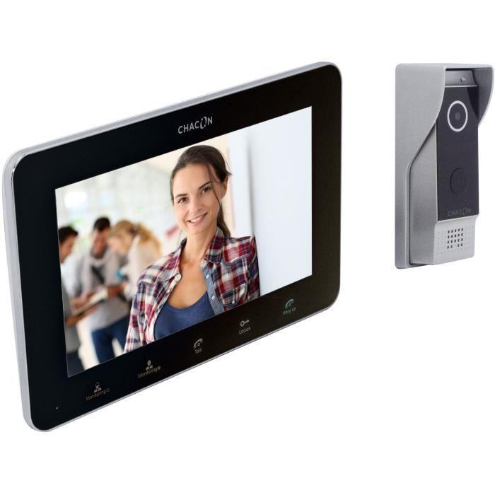 Vidéophone IP avec écran - Chacon