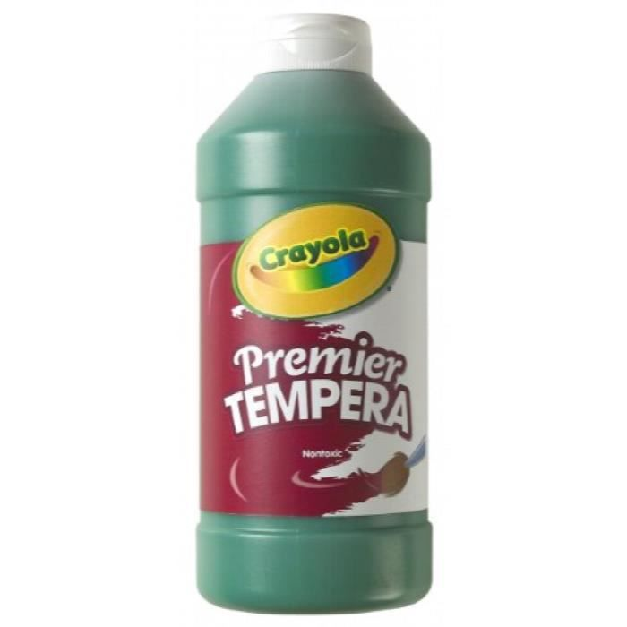 CRAYOLA Premier Tempera Paint, 16 Oz S81YJ