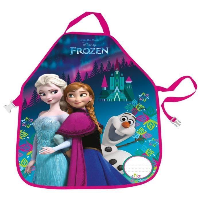 Frozen La Reine des Neiges Tablier Enfant pour activités Scolaires extrascolaires Peinture Cuisine Elsa Anna Olaf