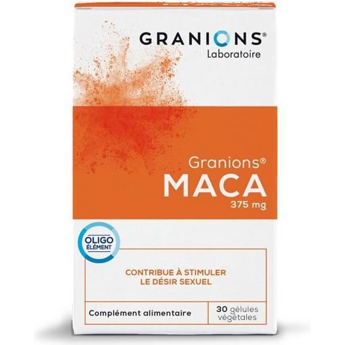 GRANIONS® MACA - 30 GÉLULES