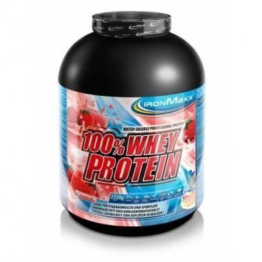 IronMaxx 100% Whey Protein 2350g Cassis-Yaourt