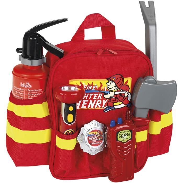 KLEIN Sac à dos de pompier avec accessoires