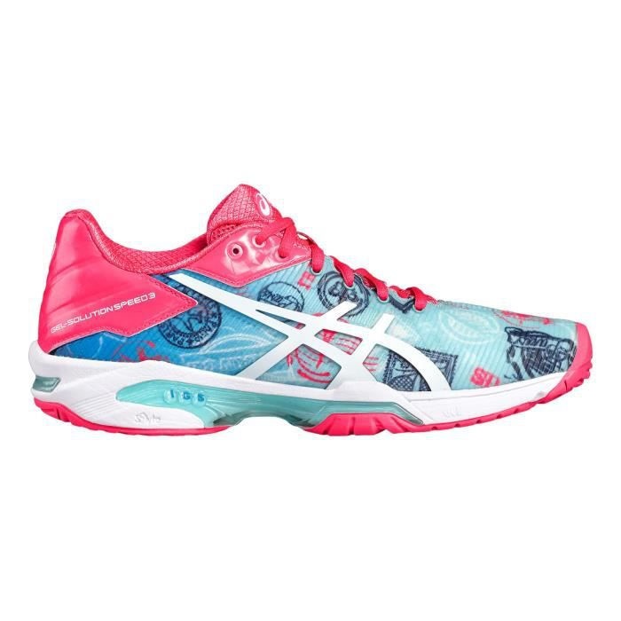 Chaussures Femme Asics Gel-solution Speed 3 Paris