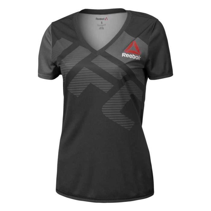 Vêtements femme T-shirts Reebok Combat Ufc Jersey Custom X