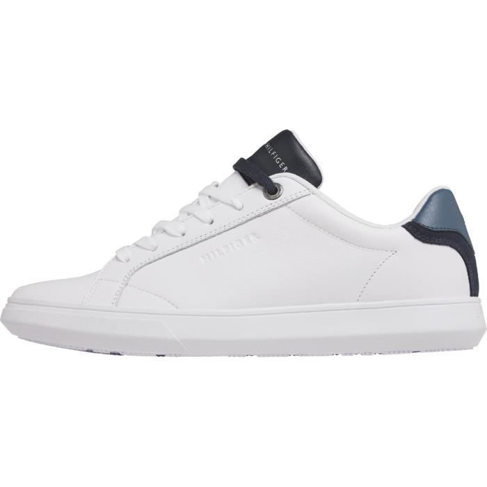 TOMMY HILFIGER - Essential lea cupsole pop - Homme