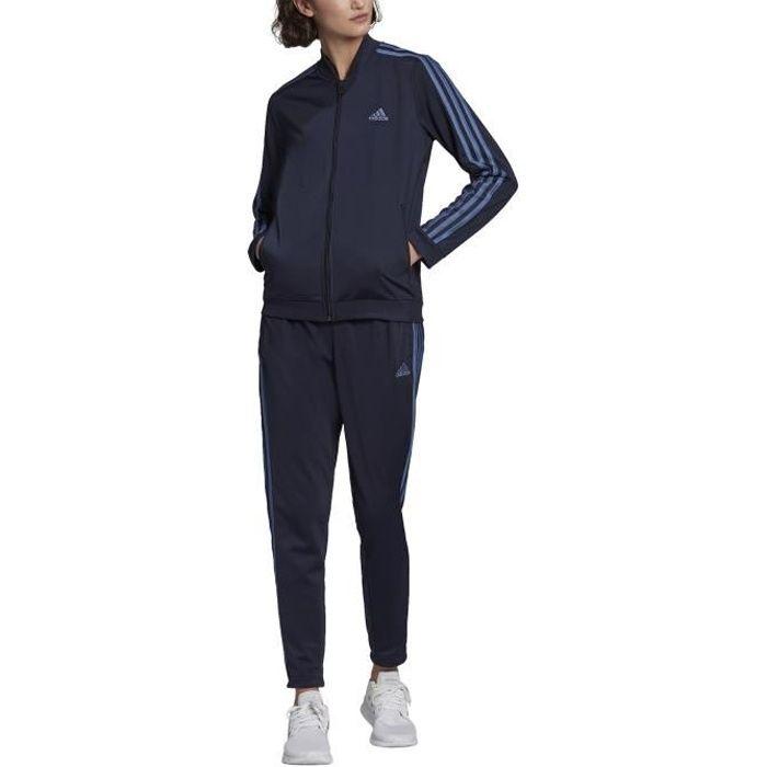Adidas Survêtement pour Femme Essentials 3-Stripes Bleu