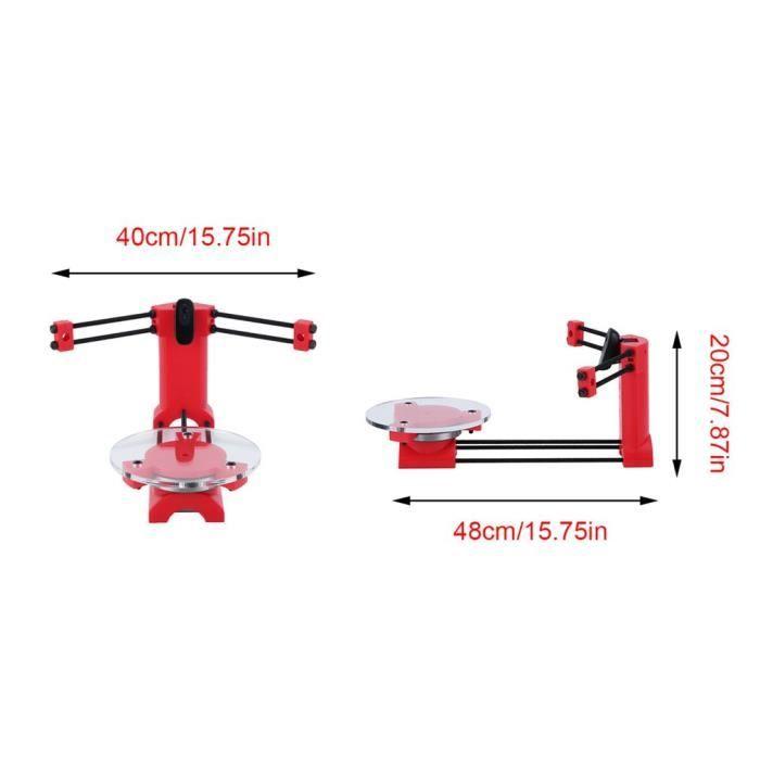 3D Laser Scanner pour Ciclop 3D imprimante moulage Diy kit de bureau de maison