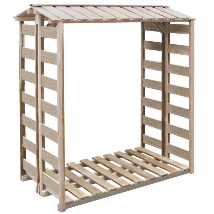 Haute qualité Luxueux Magnifique Economique Abri de stockage du bois 150x100x176 cm Pin imprégné FSC