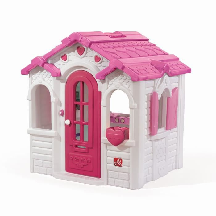 STEP2 Maisonnette Enfant Sweetheart - Rose Blanc