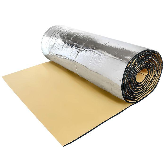 PARE-SOLEIL - BANDE SOLAIRE - FILM SOLAIRE sourcingmap® 394mil 6.46P2 car chaleur Asphlates Liner tapis isolant Amortisseur 40-x24-
