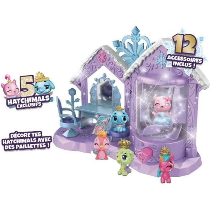 HATCHIMALS - Playset Spa étincelant Saison 6