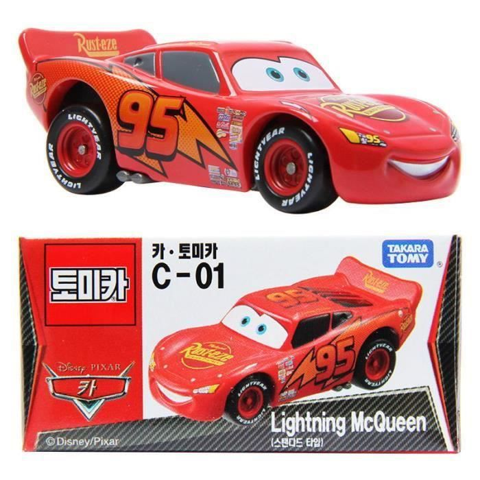 TAKARA TOMY-TOMICA DREAM TOMICA C-01 Cars-Lightning McQueen Toy Car NEW IN BOX