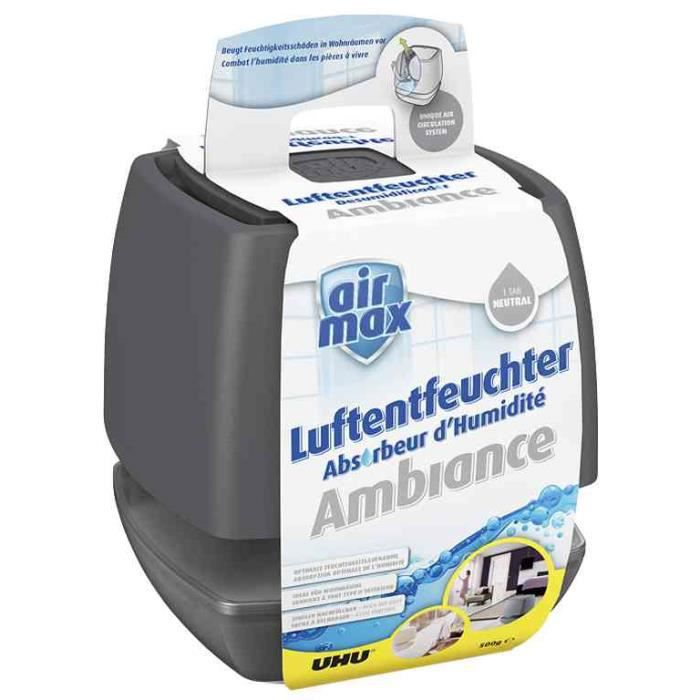 Déshumidificateur airmax Ambiance, 100 g, anthrac