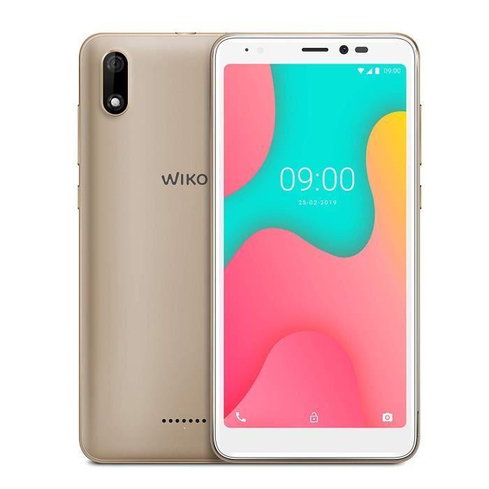 Wiko Y60 Smartphone débloqué 4G 16Go Gold