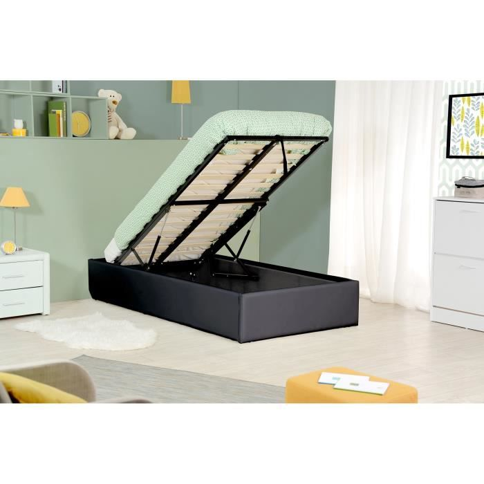 lit coffre relevable ikea. Black Bedroom Furniture Sets. Home Design Ideas
