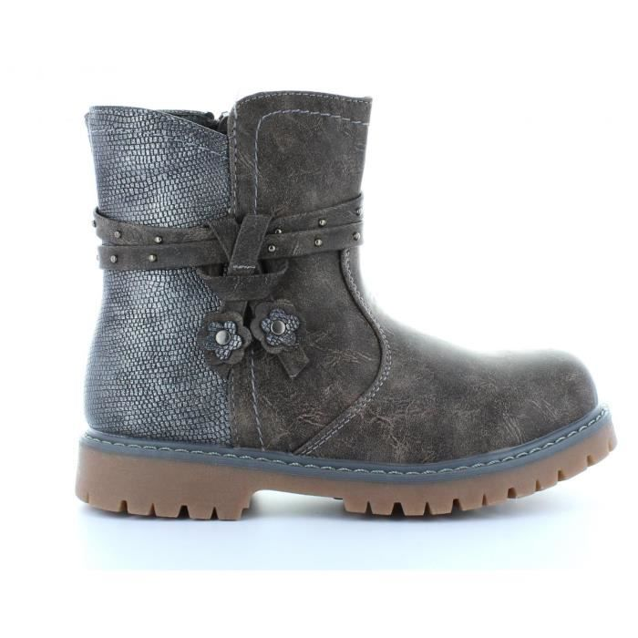 Bottes pour Fille Happy Bee B169120-B4600 DARK GREY